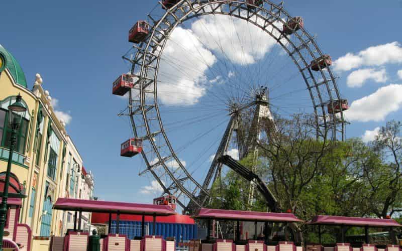 der Wiener Prater einer der schönsten Stadtparks