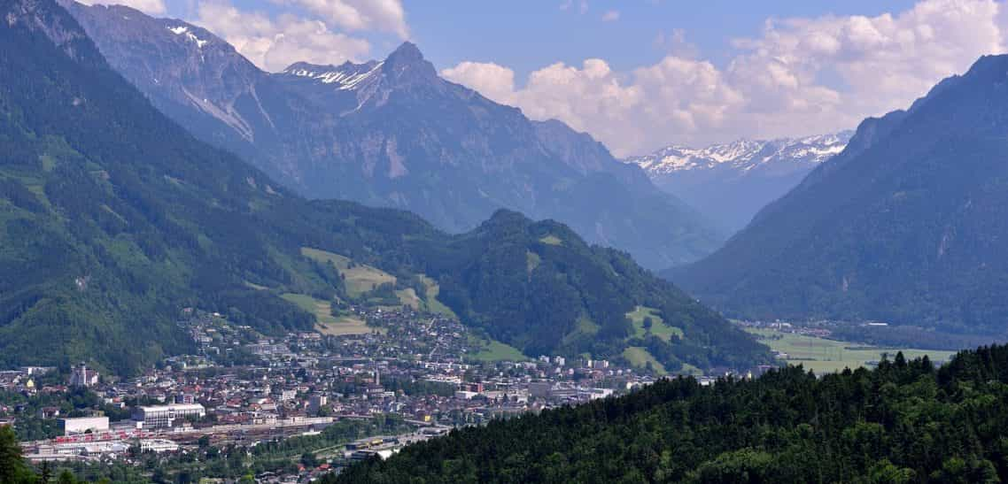 Rundradweg Nenzingerberg in der Alpenregion Bludenz in Vorarlberg