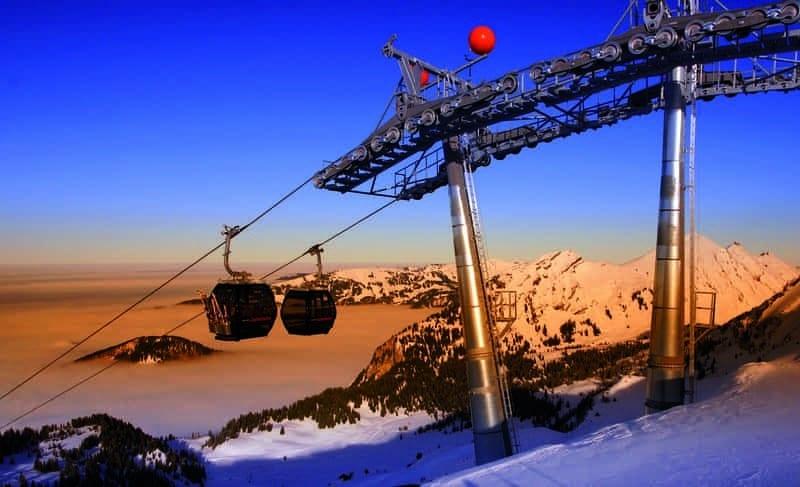 Gipfelbahn Mellau Damüls, Bregenzerwald