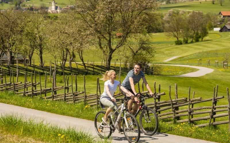 Radfahren (c) Oststeiermark Tourismus, Bernhard Bergmann
