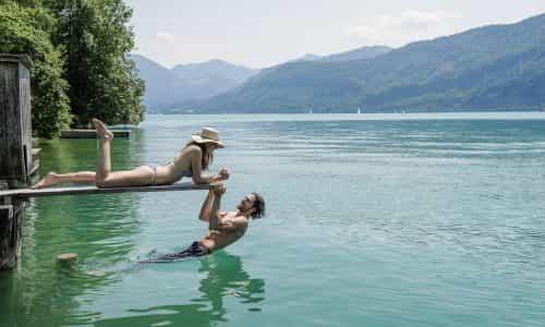 Badespaß+am+Wolfgangsee