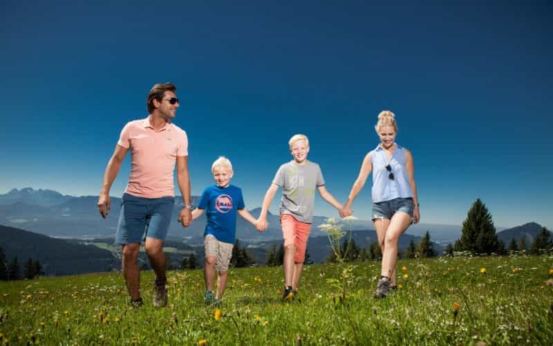 Familienwanderung in Krispl (c)Bernhard Moser