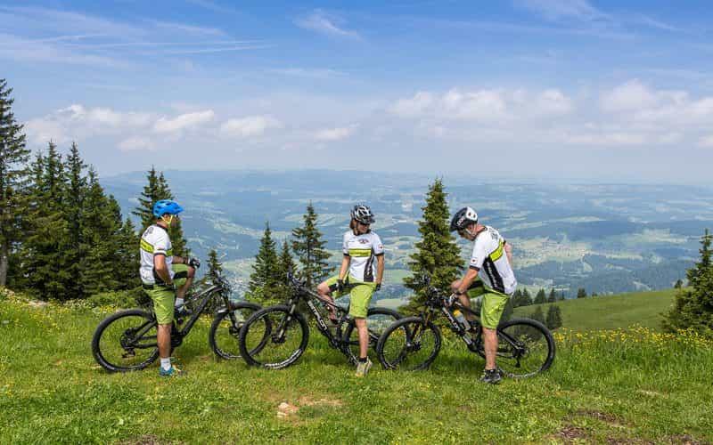 Mountainbike (c) Stephan Schatz - Bike-Schule Au-Schoppernau