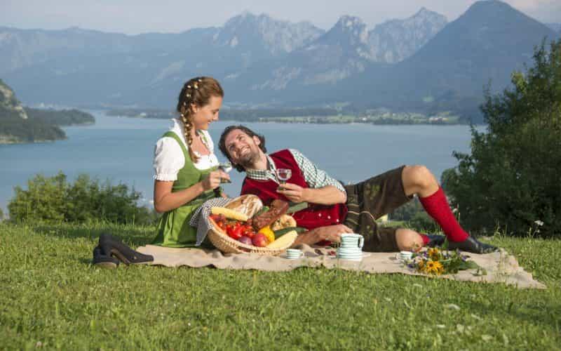 Picknick+am+Wolfgangsee