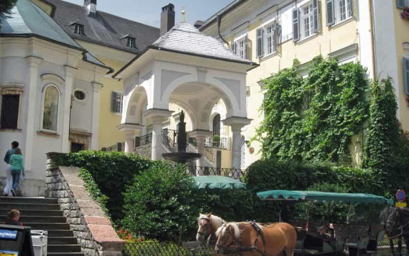 Pilgerbrunnen+St.+Wolfgang