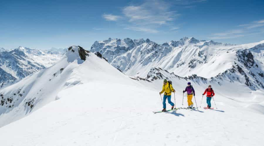 Skitour Haute Route Etappe Gargellen Tschagguns (c) Montafon Tou